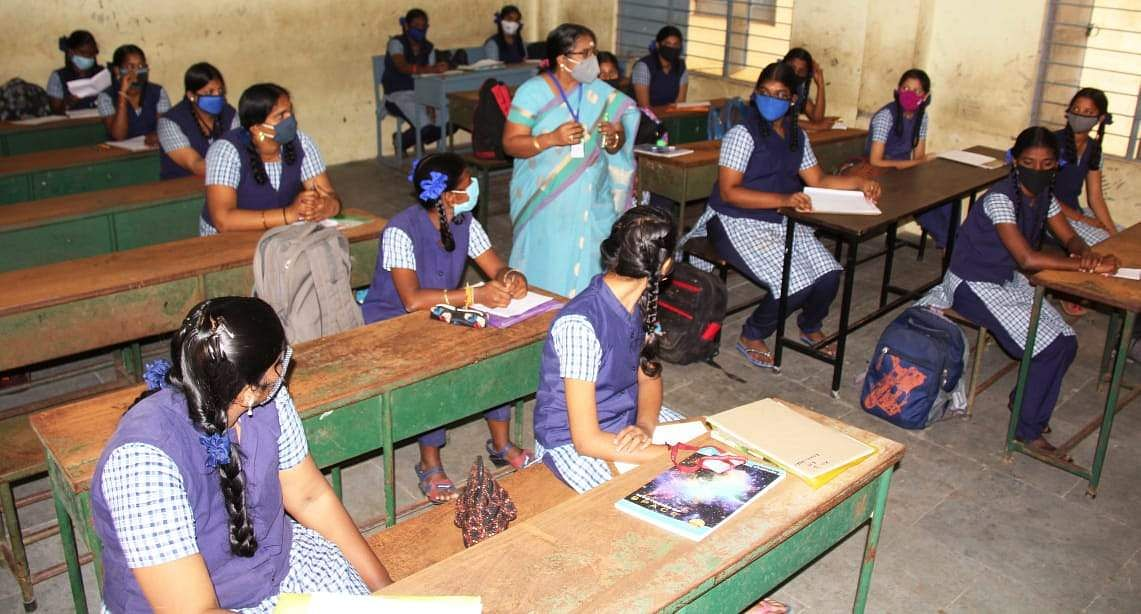 Opening of schools in Tiruvallur district: Interested students