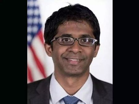 A young man of Indian descent who produced the speech of the President of the United States