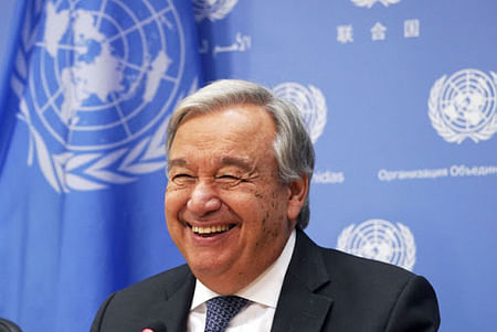 Guterres back as UN  leader: China support