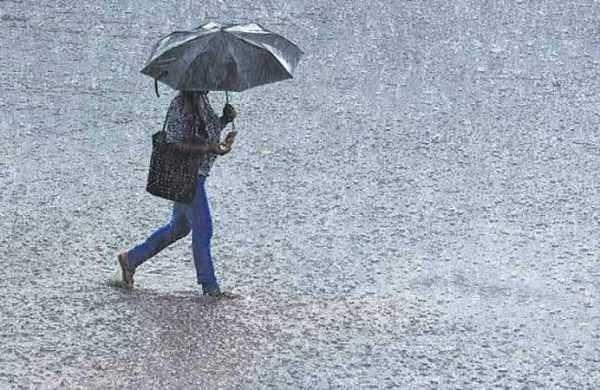 Chance of heavy rain
