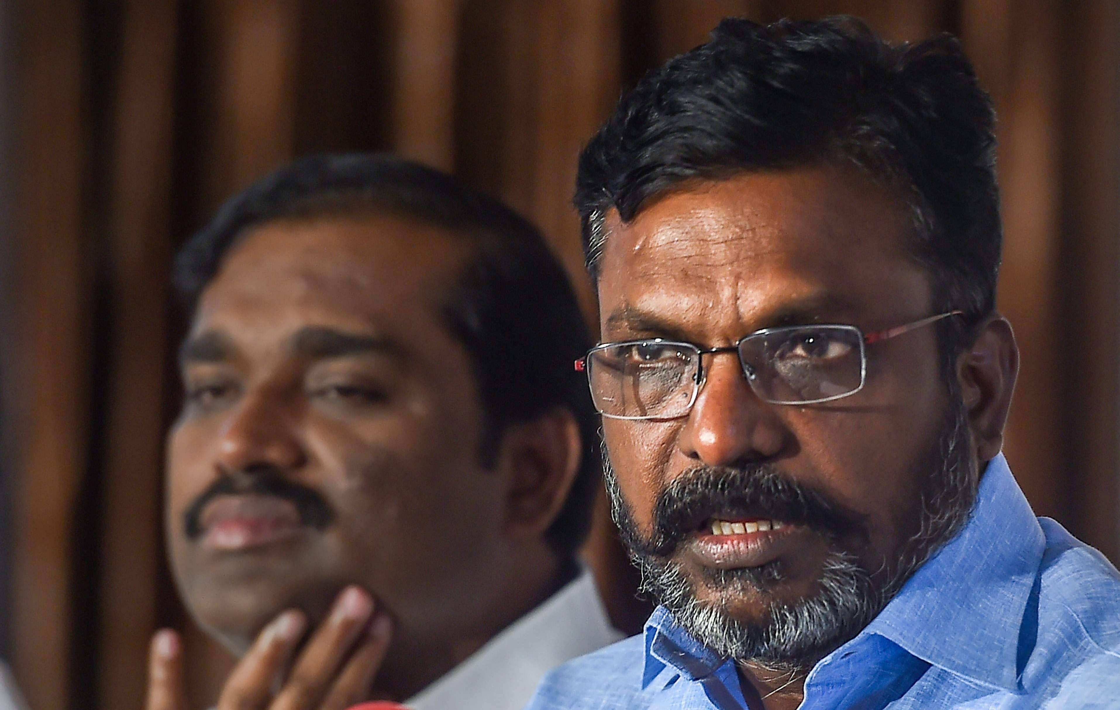 Thirumavalavan condemns Police charge in Farmers Delhi tractor Rally