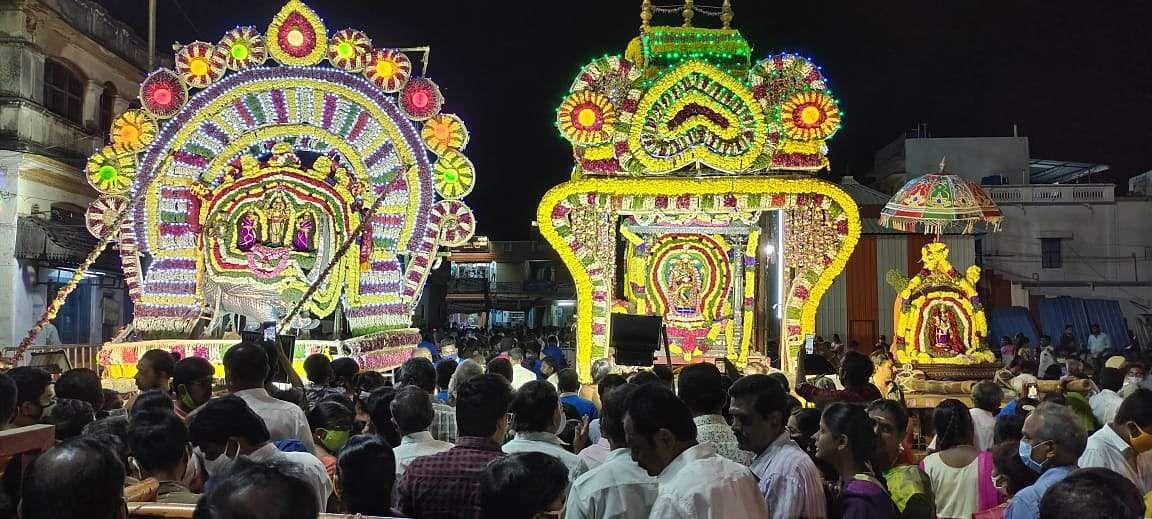 Chennimalai Maha Dharshan Festival