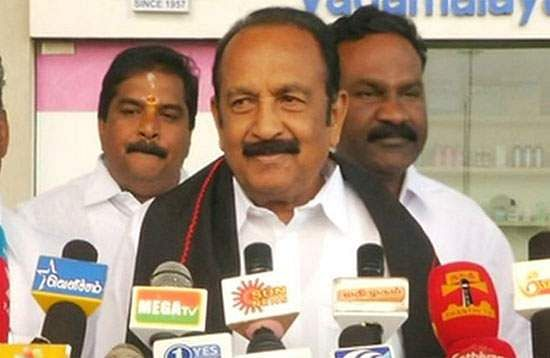 Union Budget Disappointing: Vaiko Comment