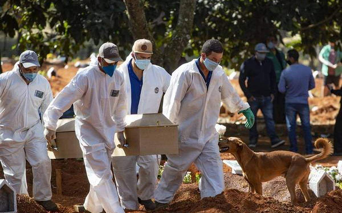 Brazil sees 1,350 COVID-19 deaths, over 50,000 cases in a day