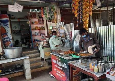 Inspection of restaurants in Ulundurpet