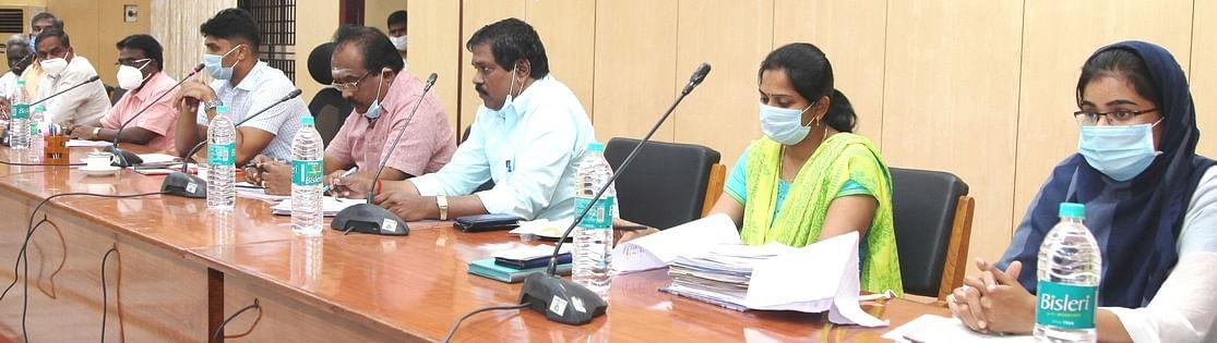 Satanur Dam Opening Consultative Meeting