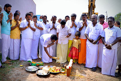 Bhoomi Puja to set up road in Thiyakathurugam Union