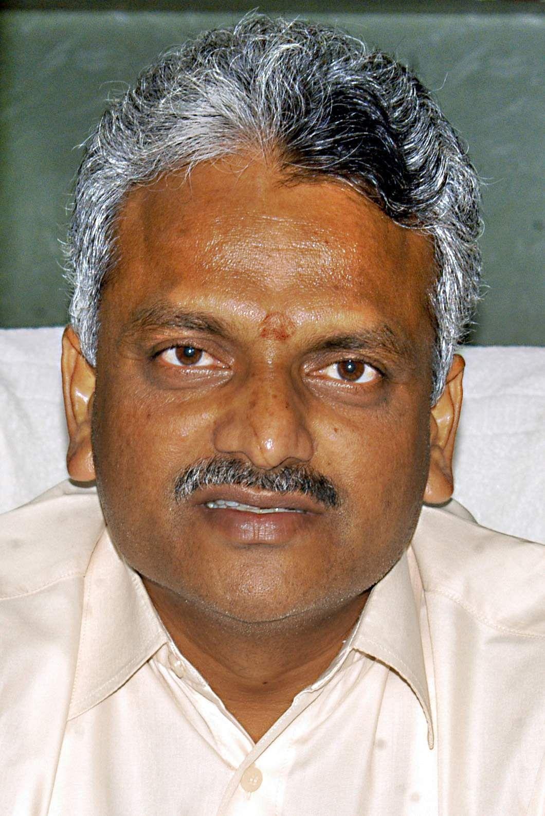 MLA Malladi Krishna Rao has resigned
