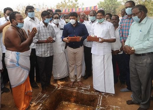 479 crore joint drinking water project begins in Vadalur