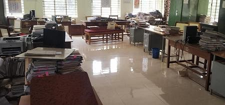 Strike with Revenue Department officials: Offices deserted