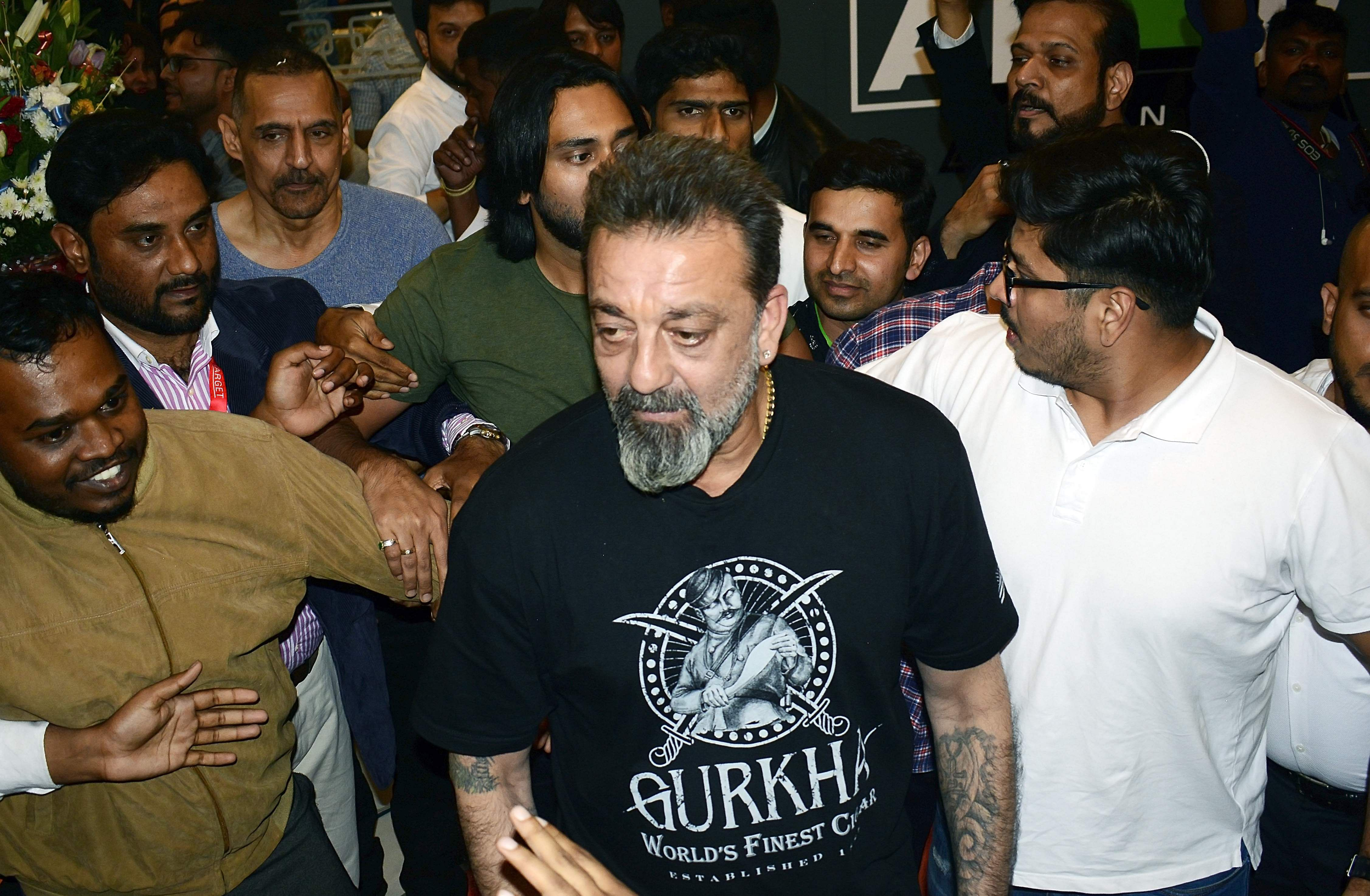 How was Sanjay Dutt released in advance? Question by the Mumbai High Court