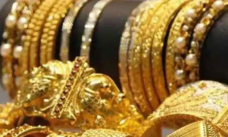Gold rate fell below Rs 35,000