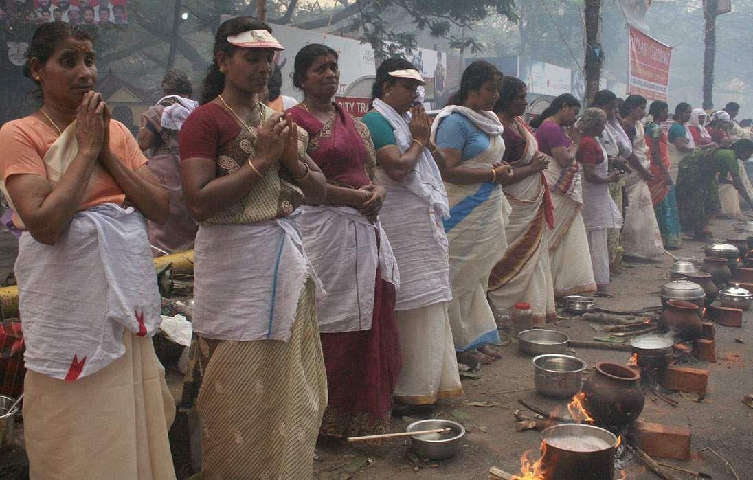 Attukal Pongala sans mass gathering of women, wayside hearths