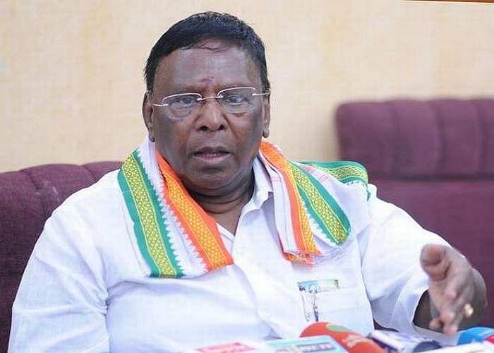 pondy CM Narayanasamy on NEET