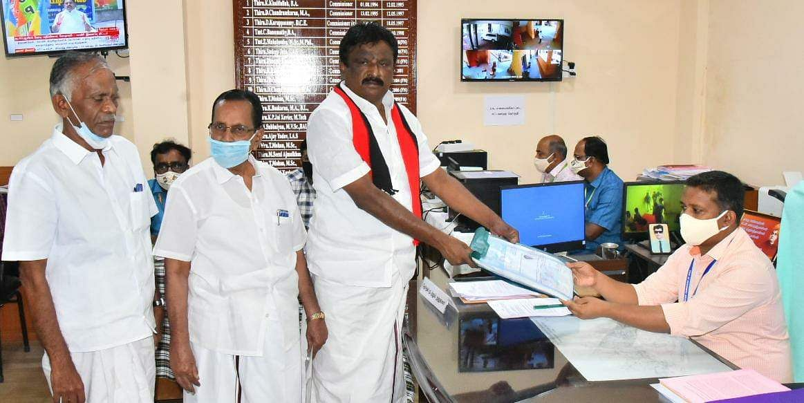 DMK candidate for Palayankottai constituency