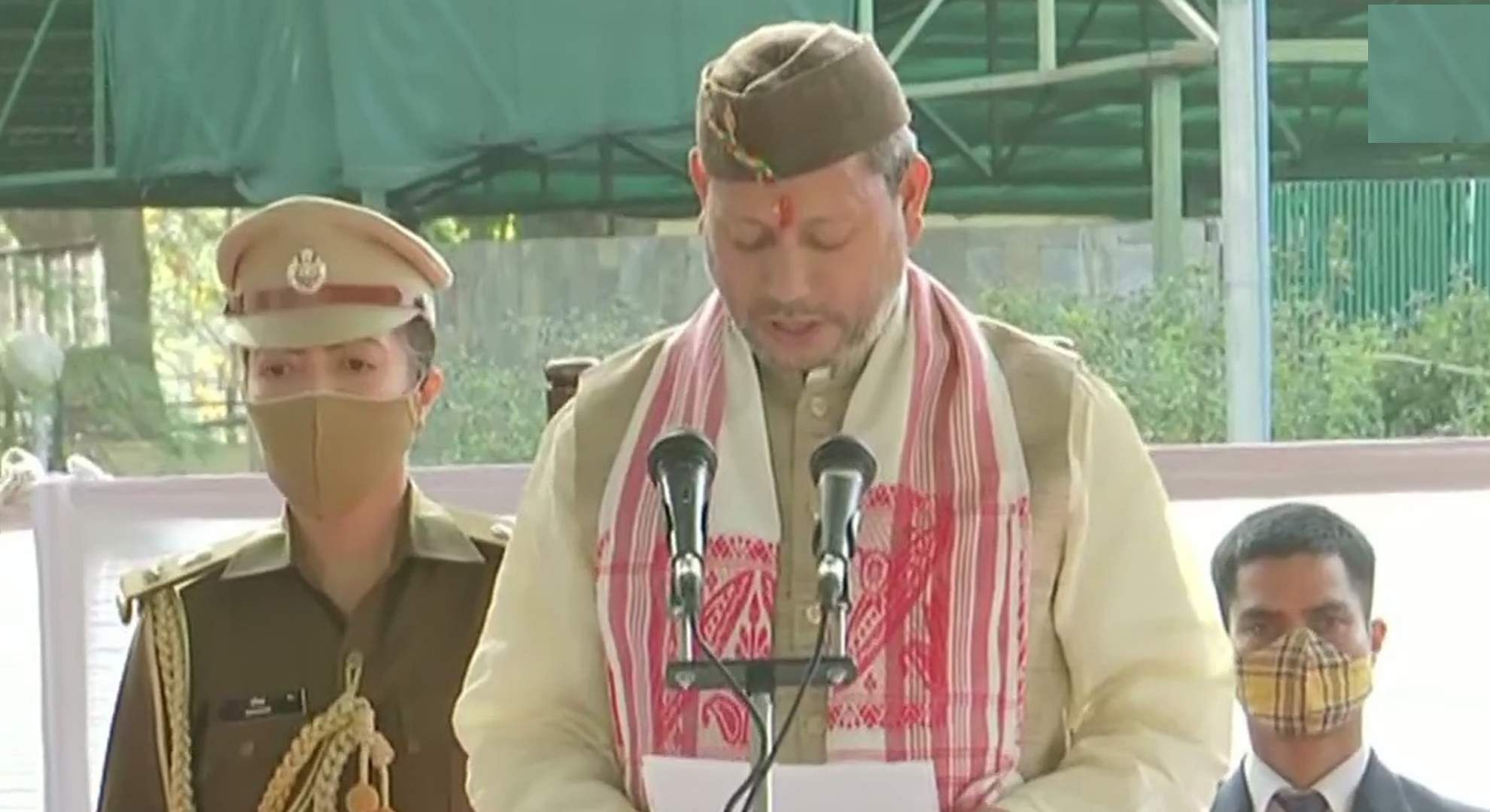 tirath-singh-rawat-takes-over-as-uttarakhand-chief-minister
