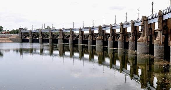 mettur dam level