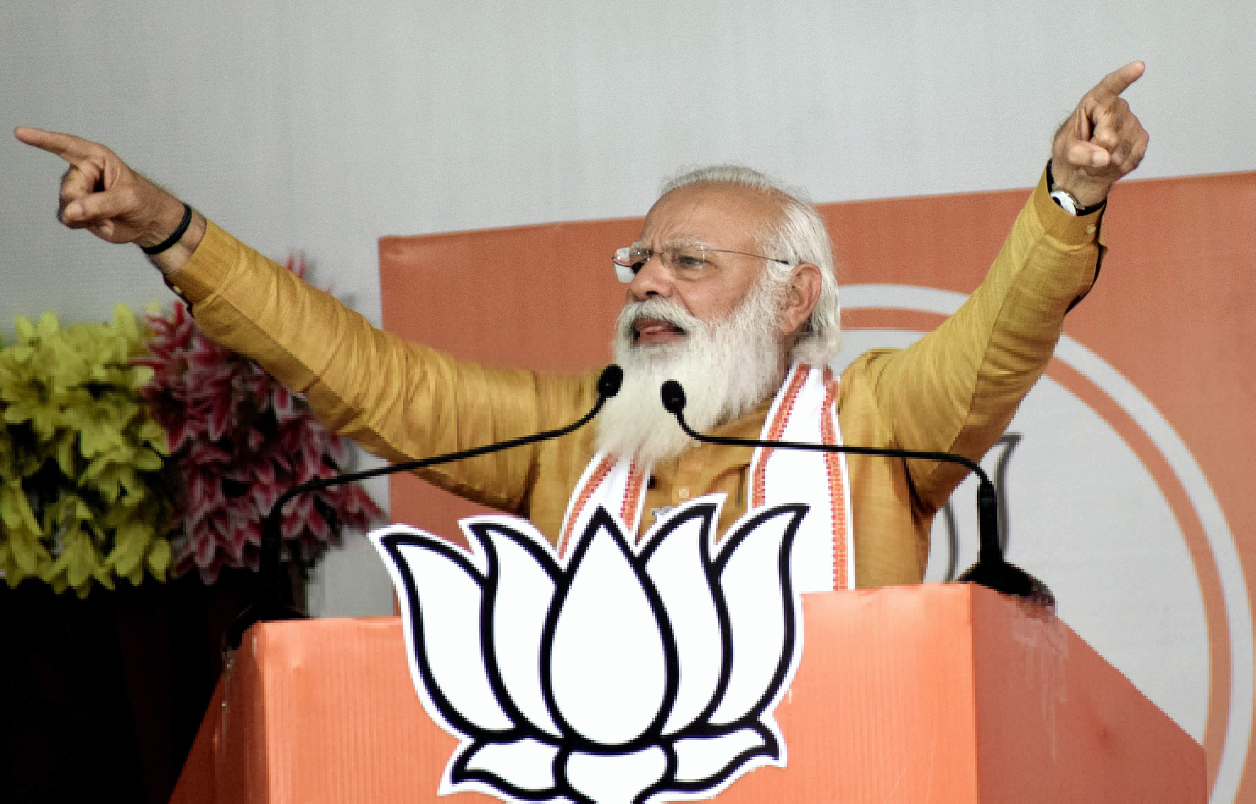 Prime Minister Modi will campaign tomorrow in support of 13 candidates in Dharapuram
