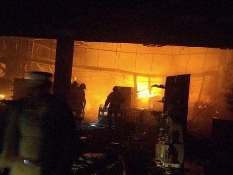 Maharashtra: 4 killed, 3 injured in fire at shop-cum-residence .