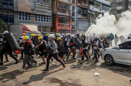 Myanmar protests: 11 killed in shootings