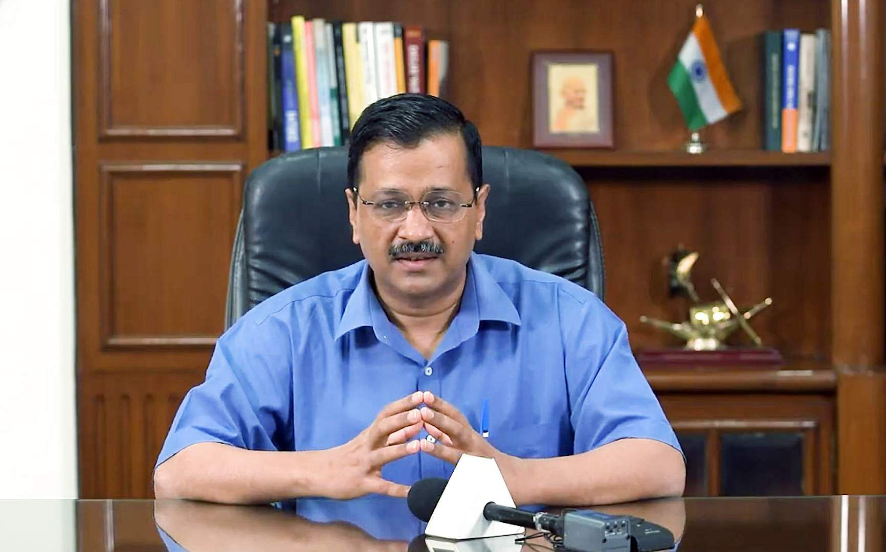 CM Kejriwal writes to his counterparts, urges them to provide oxygen to Delhi