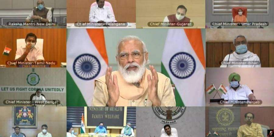 corona-modi-consults-with-state-chief-ministers