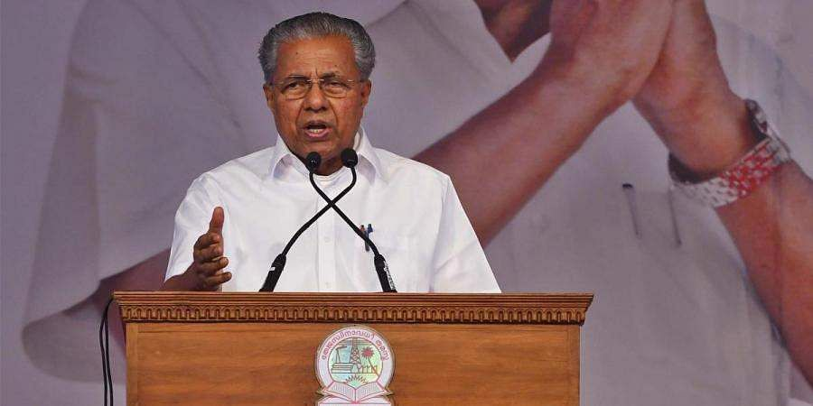 Pinarayi directs officials to arrange swearing-in ceremony on Monday