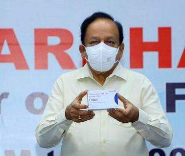 2-DG drug from corona to speed benefit: Harsh Vardhan