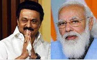 Prime Minister Modi consults with MK Stalin