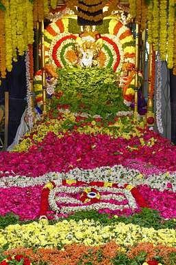 திருப்பதி கபிலேஸ்வரஸ்வாமி கோயிலில் நடந்த பத்ர புஷ்பயாகம்.
