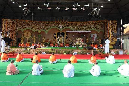 திருமலையில் அகண்ட சுந்தரகாண்ட பாராயணம்.