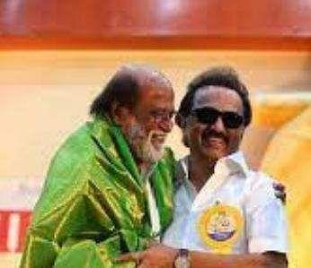 Rajini congratulates MK Stalin