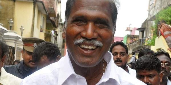 Puducherry Chief Minister Rangasamy: Supported by BJP MLAs