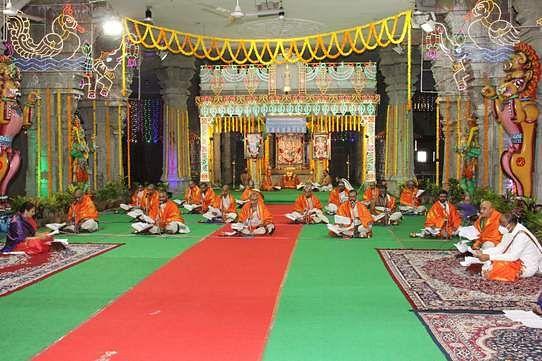 திருமலையில் தொடங்கிய ஷோடசதின சுந்தரகாண்ட பாராயணம்.