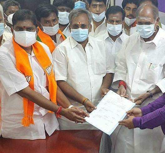 BJP general secretary R Selvam to chair Puthuvai assembly
