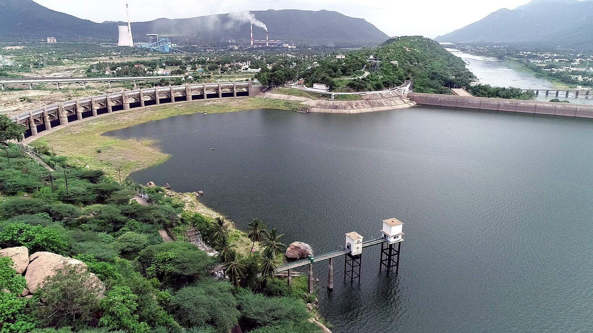 Water level status of Mettur Dam