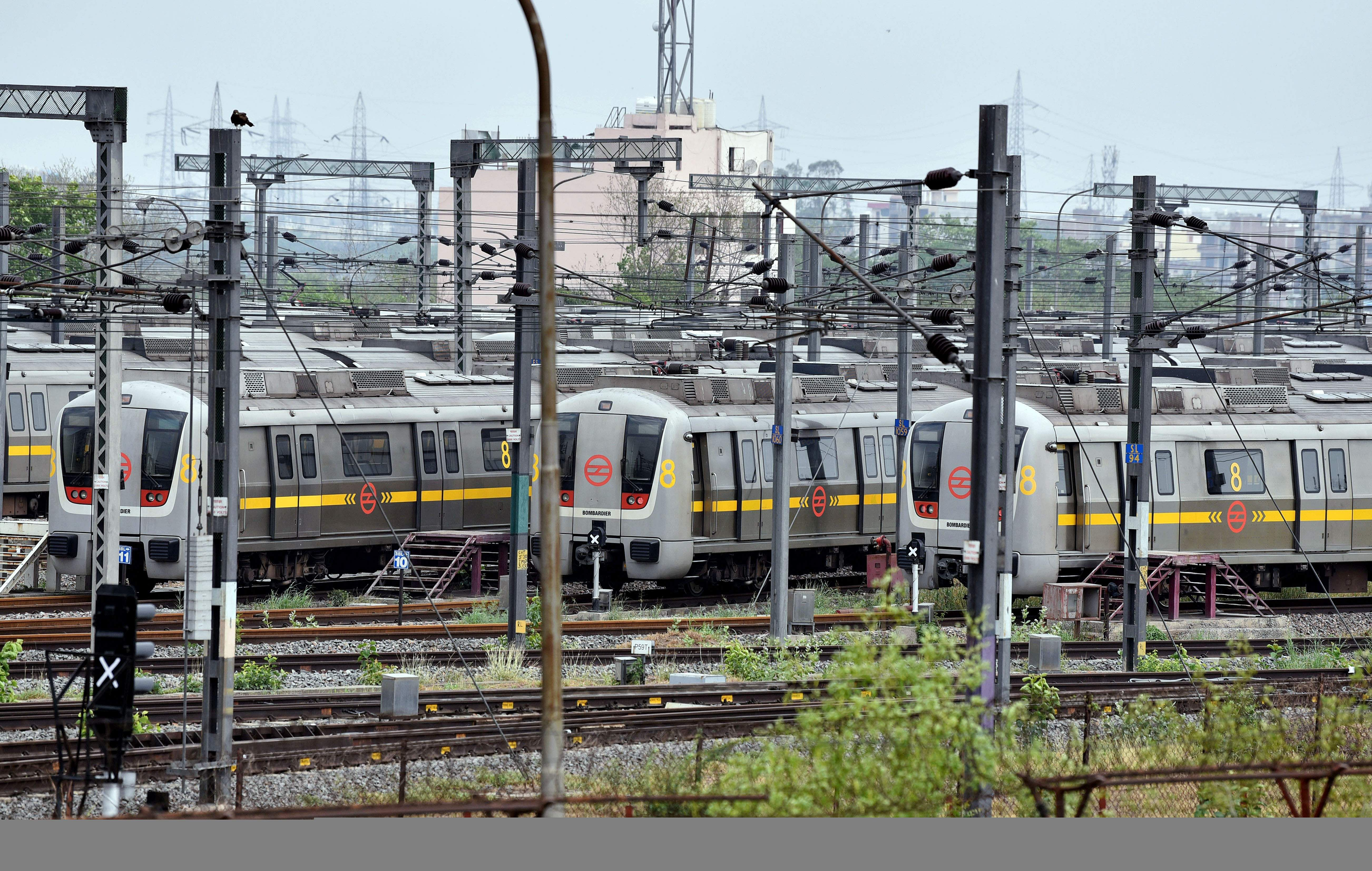 Metro trains will run with 50 per cent passengers from tomorrow