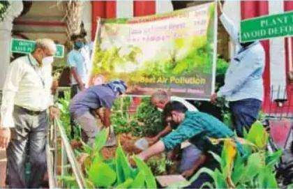 World Environment Day: Saplings were planted on the premises of railway stations