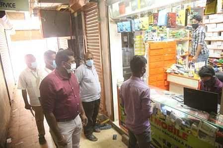 நாகா்கோவிலில் மாநகராட்சி அதிகாரிகள் ஆய்வு