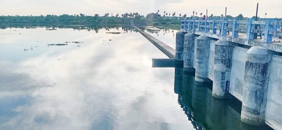 Manamadurai Vaigai River Dam: Public Welcome