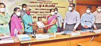 Caste certificate should be issued to tribal people without delay: Minister Kayalvizhi Selvaraj