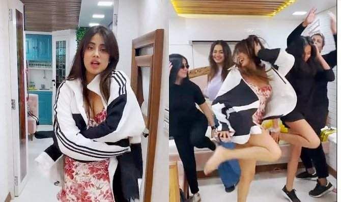 Sridevi's daughter Janhvi Kapoor's Nakka Mukka Song video viral