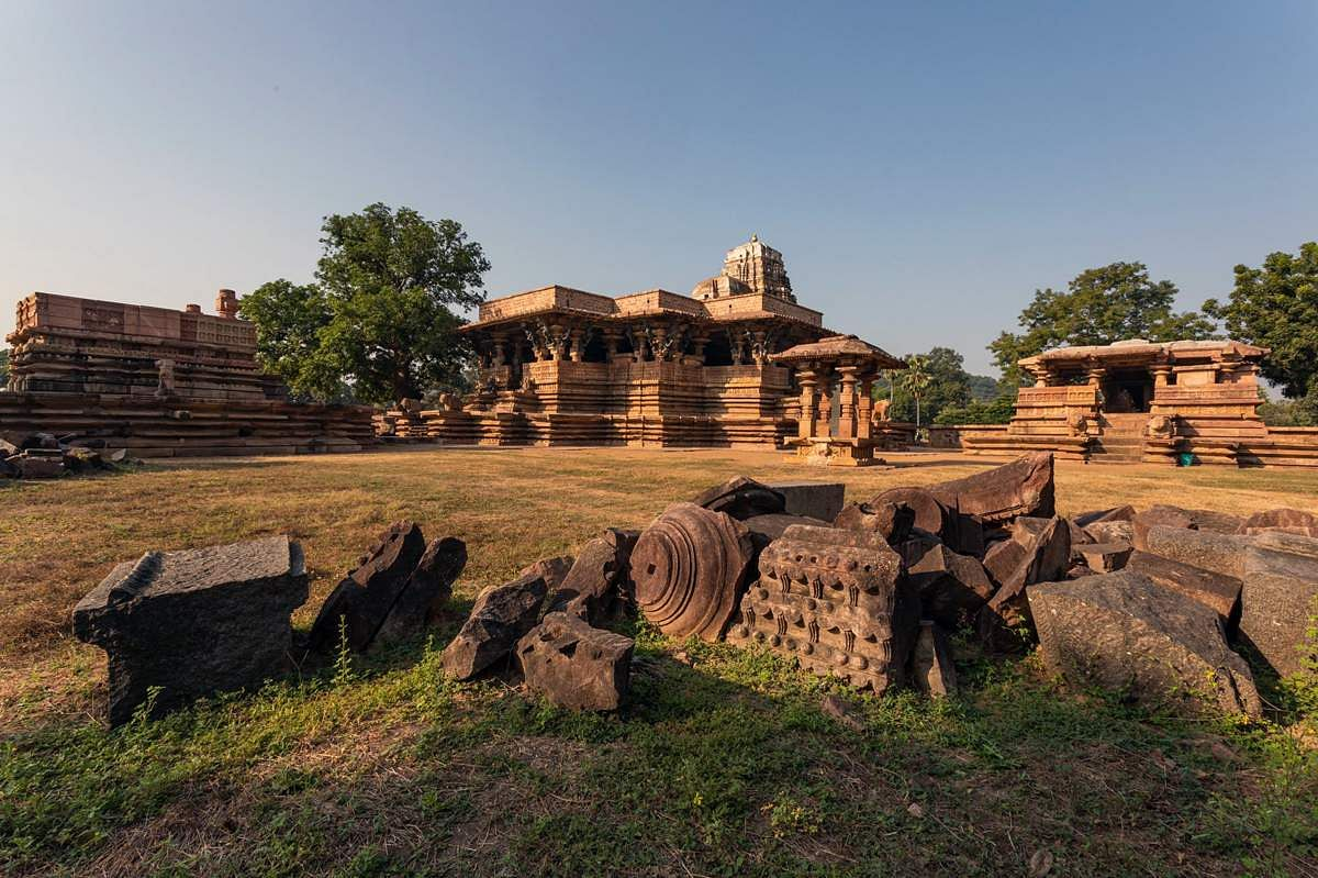 Kakatiya Rudreshwara - Ramappa Temple - Telangana- Dinamani