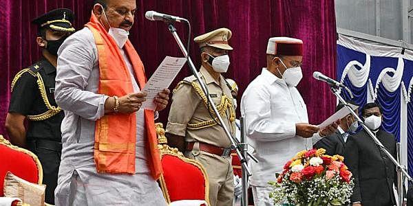 புதிய முதல்வராக பதவியேற்கும் பசவராஜ் பொம்மை